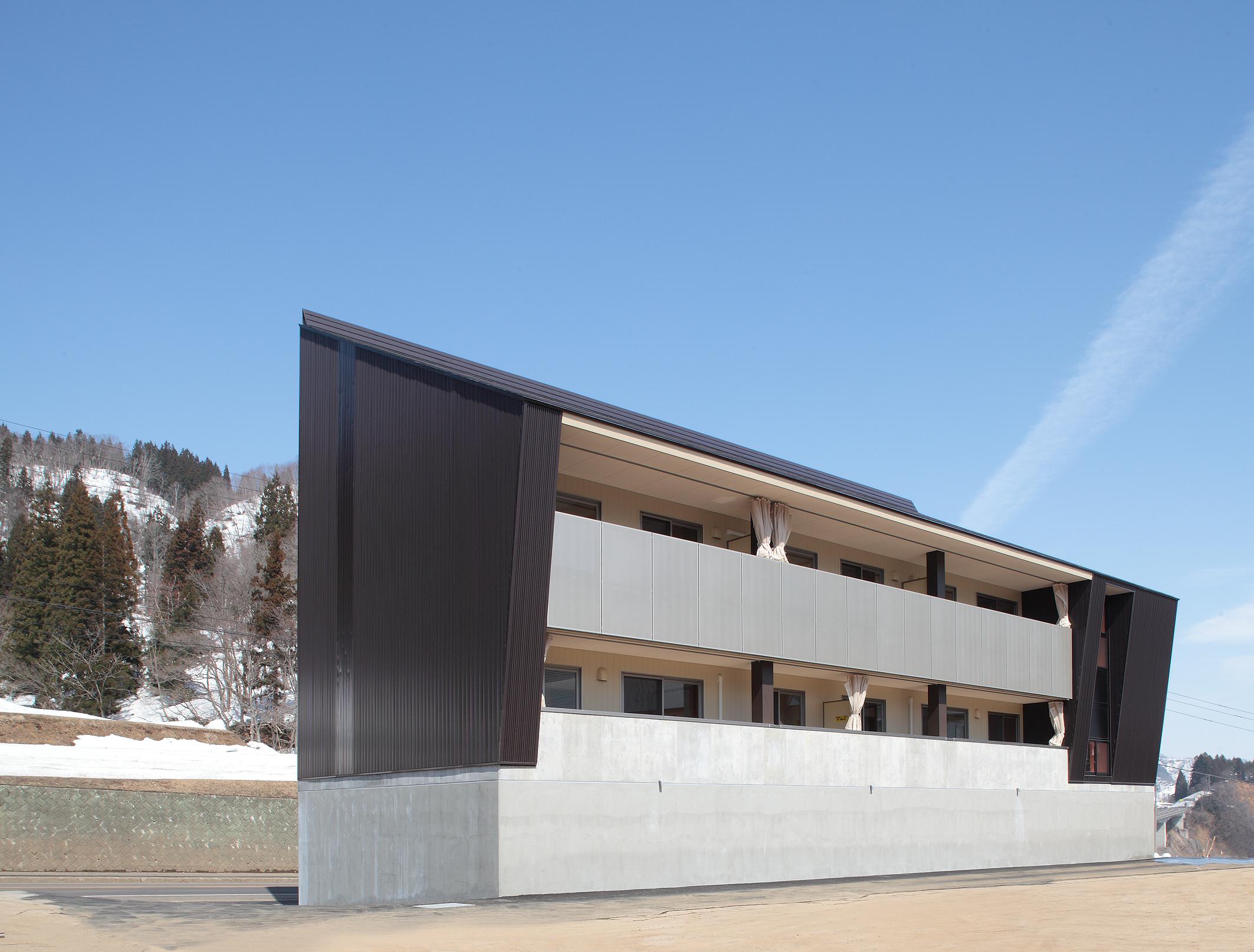 栄村教員住宅(公立学校施設災害復旧事業) | 建築設備設計 SFD ...